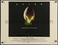 6s0009 ALIEN S2 poster 2001 Ridley Scott outer space sci-fi monster classic, hatching egg image!