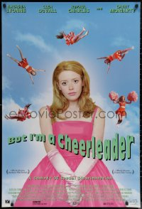 6s0966 BUT I'M A CHEERLEADER 1sh 1999 sexy Natasha Lyonnein a comedy of sexual disorientation!