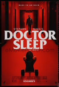 6s1000 DOCTOR SLEEP advance DS 1sh 2019 Shining sequel, McGregor in red hall in the Overlook Hotel!