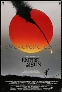 6s1012 EMPIRE OF THE SUN 1sh 1987 Stephen Spielberg, John Malkovich, first Christian Bale!