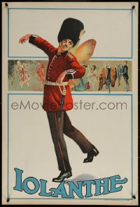 6s0231 IOLANTHE stage play English double crown 1920s Queen's Guard Private Willis sprouts wings!