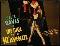 6s0010 GIRL FROM 10th AVENUE S2 poster 1998 incredible artwork of sexy smoking Bette Davis!