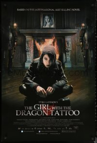 6s1032 GIRL WITH THE DRAGON TATTOO DS 1sh 2010 Stieg Larsson, Noomi Rapace as Lisbeth Salander!