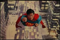 6s0007 SUPERMAN group of 4 color 20x29.75 stills 1978 DC superhero Christopher Reeve, Brando, York!