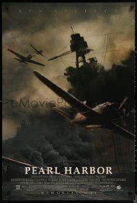 6s1173 PEARL HARBOR advance DS 1sh 2001 Michael Bay, World War II, B5N2 bombers flying in!