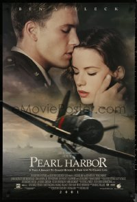 6s1175 PEARL HARBOR int'l advance DS 1sh 2001 World War II, Ben Affleck with Kate Beckinsale!