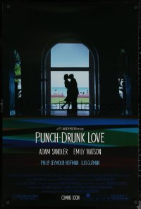6s1184 PUNCH-DRUNK LOVE advance 1sh 2002 Adam Sandler, Emily Watson, Paul Thomas Anderson!