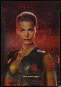 6s0005 SPECIES II lenticular 1sh 1998 sexy & scary alien Natasha Henstridge!