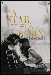 6s1231 STAR IS BORN teaser DS 1sh 2018 Bradley Cooper stars and directs, romantic image w/Lady Gaga!
