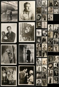 6t0816 LOT OF 53 8X10 REPRO PHOTOS 1980s a variety of portraits of top Hollywood stars!