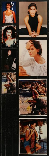 6t0829 LOT OF 18 TERI HATCHER COLOR AND BLACK & WHITE REPRO PHOTOS 1990s-2000s great portraits!