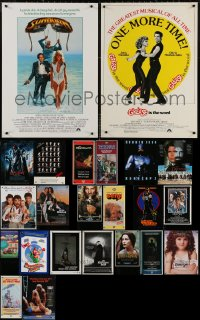6t0987 LOT OF 22 UNFOLDED SPECIAL POSTERS 1970s-2000s a variety of cool images!