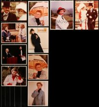 6t0839 LOT OF 10 KATHARINE HEPBURN COLOR 8X10 REPRO PHOTOS 1980s scenes from her later movies!