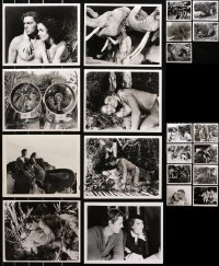 6t0827 LOT OF 21 TARZAN & HIS MATE 8X10 REPRO PHOTOS 1980s Johnny Weissmuller, Maureen O'Sullivan