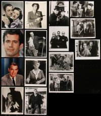 6t0834 LOT OF 15 8X10 REPRO PHOTOS 1980s great portraits of top Hollywood stars over many decades!