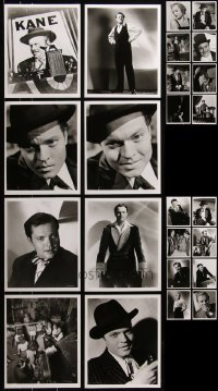 6t0819 LOT OF 43 CITIZEN KANE 8X10 REPRO PHOTOS 1970s great images from Orson Welles' masterpiece!