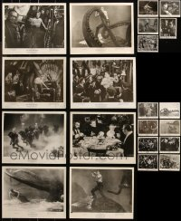 6t0803 LOT OF 21 20,000 LEAGUES UNDER THE SEA UNMARKED RE-RELEASE OR RE-STRIKE 8X10 STILLS 1970s