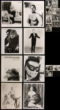6t0828 LOT OF 19 8X10 REPRO PHOTOS 1980s great scenes & portraits from a variety of movies!
