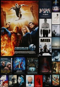 6t1130 LOT OF 21 UNFOLDED DOUBLE-SIDED 27X40 ONE-SHEETS 2010s a variety of cool movie images!