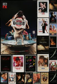 6t1126 LOT OF 22 MOSTLY UNFOLDED MOSTLY SINGLE-SIDED MOSTLY ONE-SHEETS 1980s-2010s cool images!