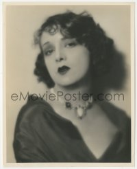 6w0164 ESTELLE TAYLOR 8x10 still 1920s head & shoulders portrait with great hair & jewelry!
