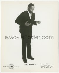 6w0176 FLIP WILSON 8.25x10 publicity still 1960s great full-length portrait early in his career!