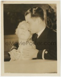 6w0179 FLYING FLEET 8x10.25 still 1929 c/u of pilot Ramon Novarro holding pretty Anita Page!