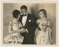 6w0183 FORGOTTEN FACES 8x10.25 still 1928 Jack Luden in tux between Mary Brian & Olga Baclanova!