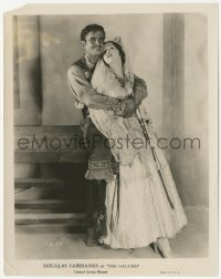 6w0189 GAUCHO 8x10.25 still 1927 best portrait of suave outlaw Douglas Fairbanks & Lupe Velez!