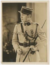 6w0193 GIGOLO 7.75x10.25 still 1926 great close up of Rod La Rocque in WWI military uniform!