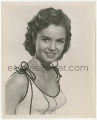 6w0194 GIVE A GIRL A BREAK 8.25x10 still 1953 sexy head & shoulders portrait of Debbie Reynolds!