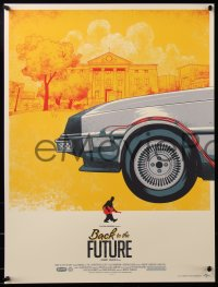 6x0011 BACK TO THE FUTURE TRILOGY #3/420 group of 3 18x24 art prints 2012 Mondo, set edition!