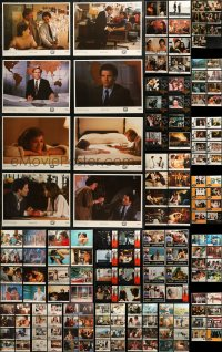 7f0244 LOT OF 167 1970S-80S LOBBY CARDS 1970s-1980s mostly complete sets from a variety of movies!