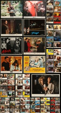 7f0250 LOT OF 137 1980S LOBBY CARDS 1980s incomplete sets from a variety of different movies!