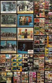 7f0247 LOT OF 156 LOBBY CARDS 1960s-1980s incomplete sets from a variety of different movies!