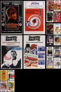 7f0024 LOT OF 20 UNFOLDED 2009 SEASON LOCAL THEATER 11X17 RE-RELEASE SPECIAL POSTERS 2009 cool!