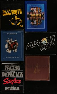 7f0032 LOT OF 8 PROMO BROCHURES 1970s-1980s advertising for a variety of different movies!