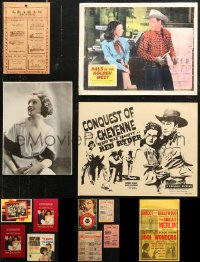 7f0039 LOT OF 13 MISCELLANEOUS ITEMS 1930s-1970s cool images from movies & more!
