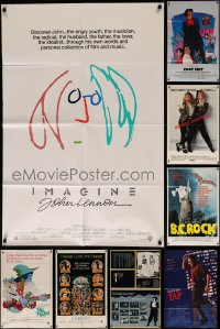 7f0234 LOT OF 10 FOLDED 1970S-80S MUSIC THEME ONE-SHEETS 1970s-1980s cool movie images!