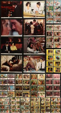 7f0245 LOT OF 166 1960S LOBBY CARDS 1960s mostly complete sets from a variety of different movies!