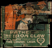 7h0001 IRON CLAW chapter 3 6sh 1916 The Cognac Cask starring Pearl White, ultra rare!