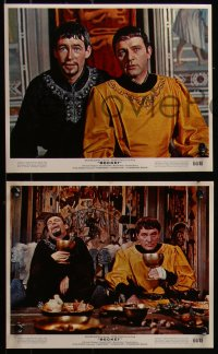 7k0029 BECKET 7 color 8x10 stills 1964 Peter O'Toole, Richard Burton in the title role!