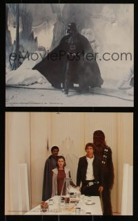 7k0008 EMPIRE STRIKES BACK 8 color 8x10 stills 1980 George Lucas classic epic, great images!