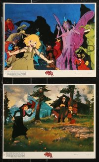 7k0012 HEIDI'S SONG 8 8x10 mini LCs 1982 Hanna-Barbera cartoon from the Johanna Spyri novel!