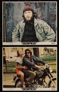 7k0033 SERPICO 7 8x10 mini LCs 1974 Al Pacino on the streets, Sidney Lumet crime classic!