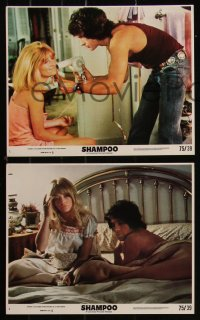 7k0034 SHAMPOO 7 8x10 mini LCs 1975 hairdresser Warren Beatty, Julie Christie, Goldie Hawn!