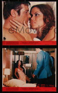 7k0021 SPY WHO LOVED ME 8 8x10 mini LCs 1977 Barbara Bach, Richard Kiel, Munro, Roger Moore as Bond!