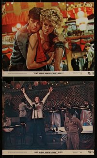 7k0023 THEY SHOOT HORSES, DON'T THEY 8 8x10 mini LCs 1970 Jane Fonda, Michael Sarrazin, York!