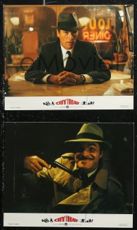 7k0006 CITY HEAT 8 color English FOH LCs 1985 Clint Eastwood the cop & Burt Reynolds the detective!