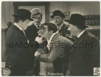 7p0018 SAN FRANCISCO German LC 1936 great different c/u of Clark Gable and Spencer Tracy!